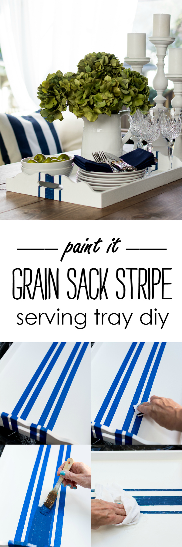 grain-sack-tray-makeover-navy-white