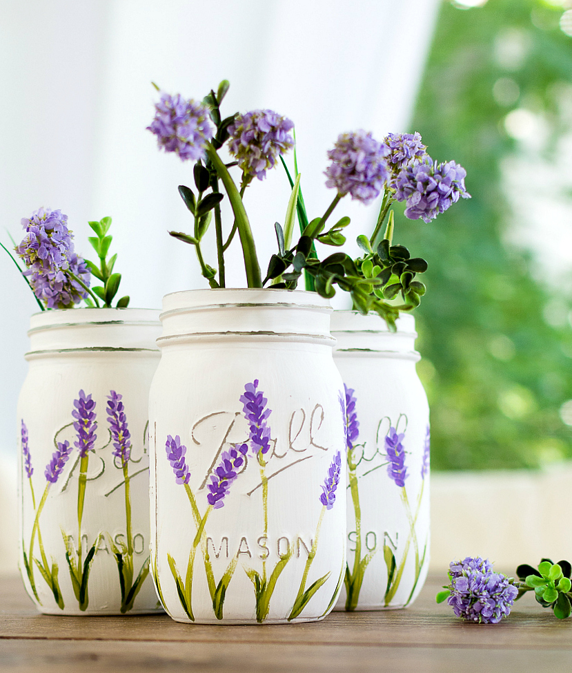 How To Paint Lavender Flowers