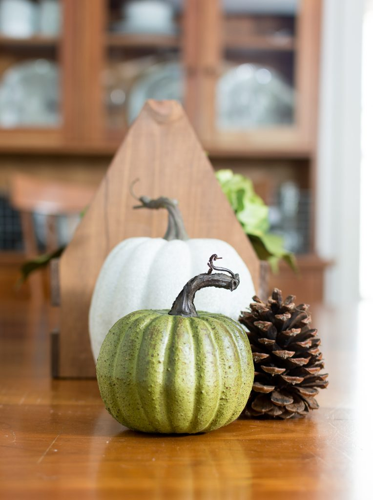 Simple Fall Dining Table Centerpiece It All Started With