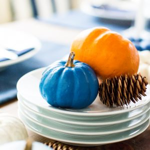 Giving Thanks … And Painted Pumpkins