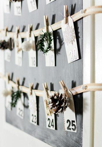 Merry Christmas Countdown Calendar
