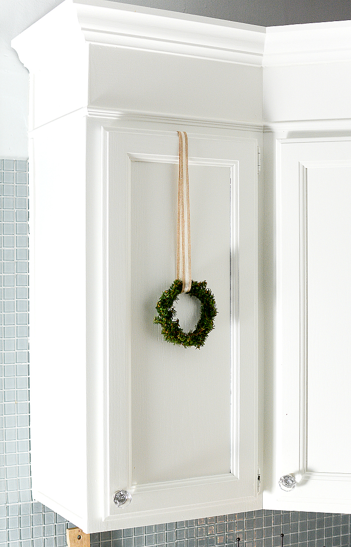 Christmas In The Kitchen With Mini Wreaths It All