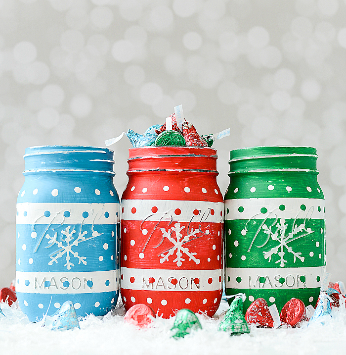 Holiday Craft Idea with Mason Jars