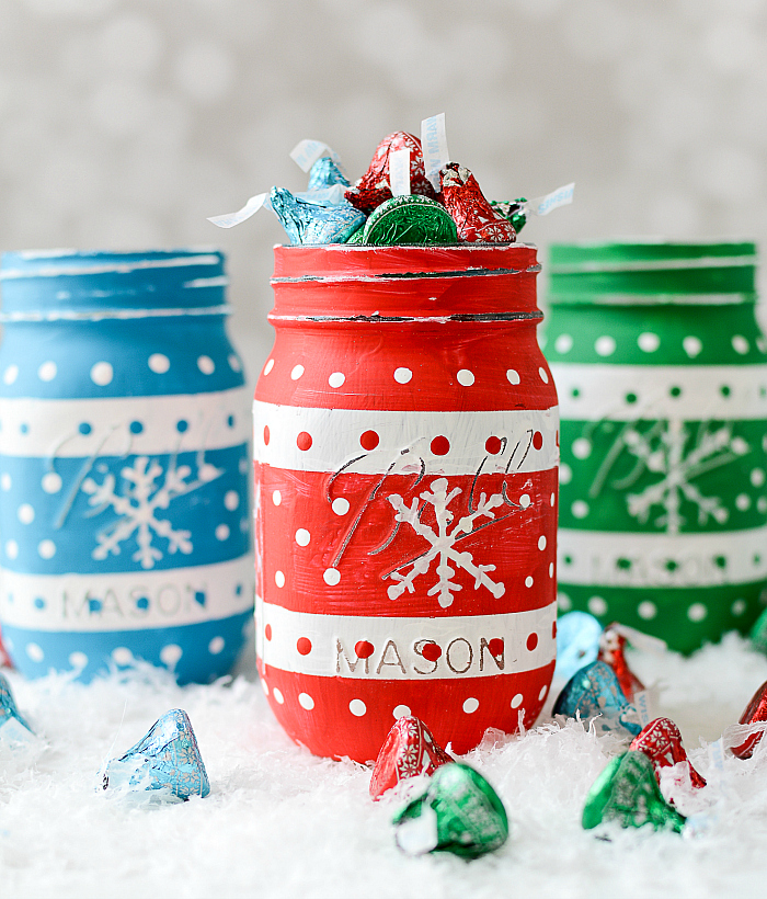 Mason Jar holiday craft idea