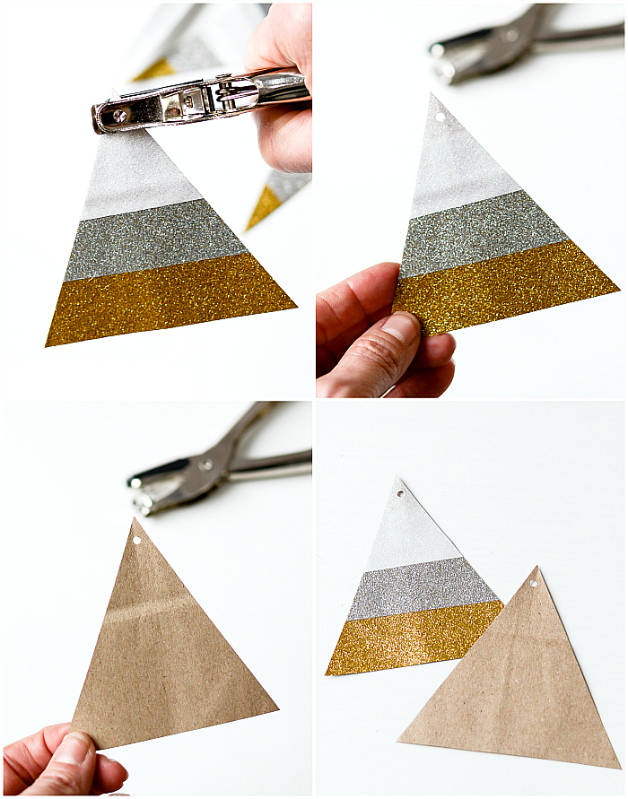 DIY Gift Bag Ideas with Duck Glitter Tape