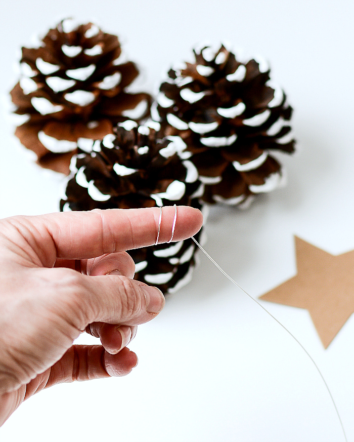 How To Make Pine Cone Christmas Tree Place Card Holders