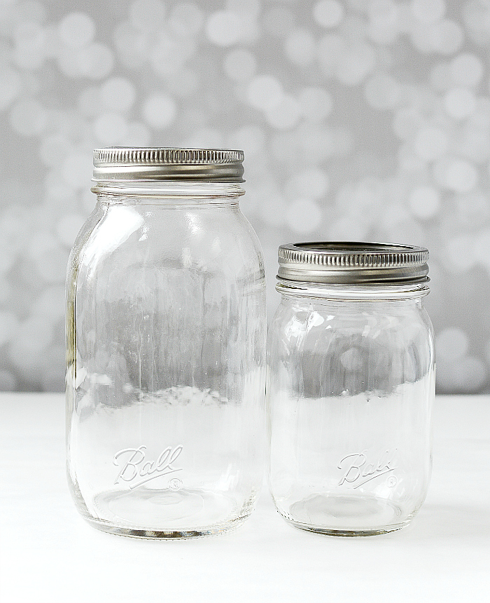 Smooth Sided Mason Jars