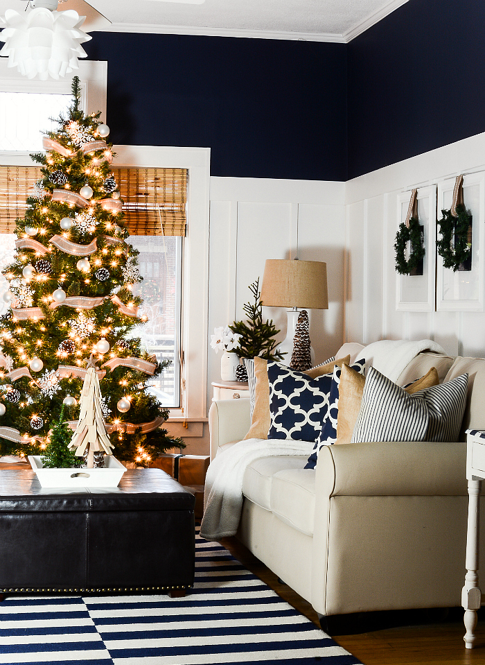 christmas-decorating-ideas-neutral-burlap-white-navy-rustic-living-room-it-all-started-with-paint-28-of-36