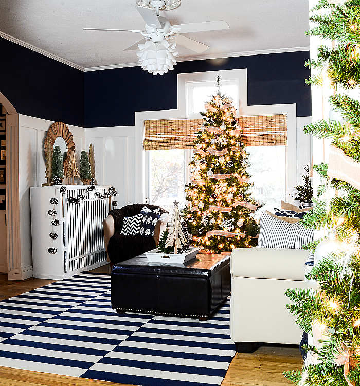 christmas-decorating-ideas-neutral-burlap-white-navy-rustic-living-room-it-all-started-with-paint-35-of-36