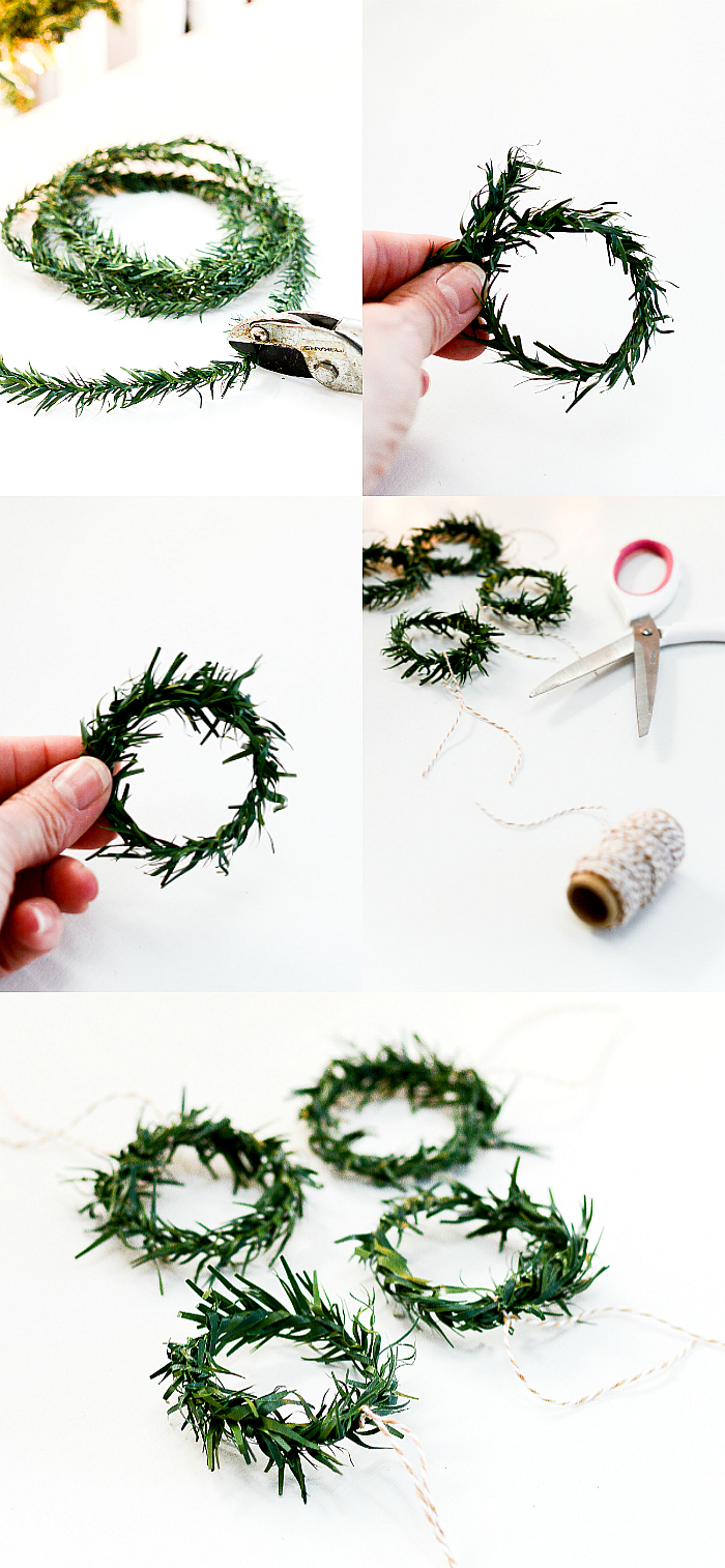 Mini Wreath DIY