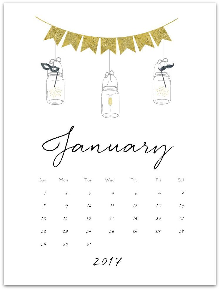 Free Calendar Page Printable