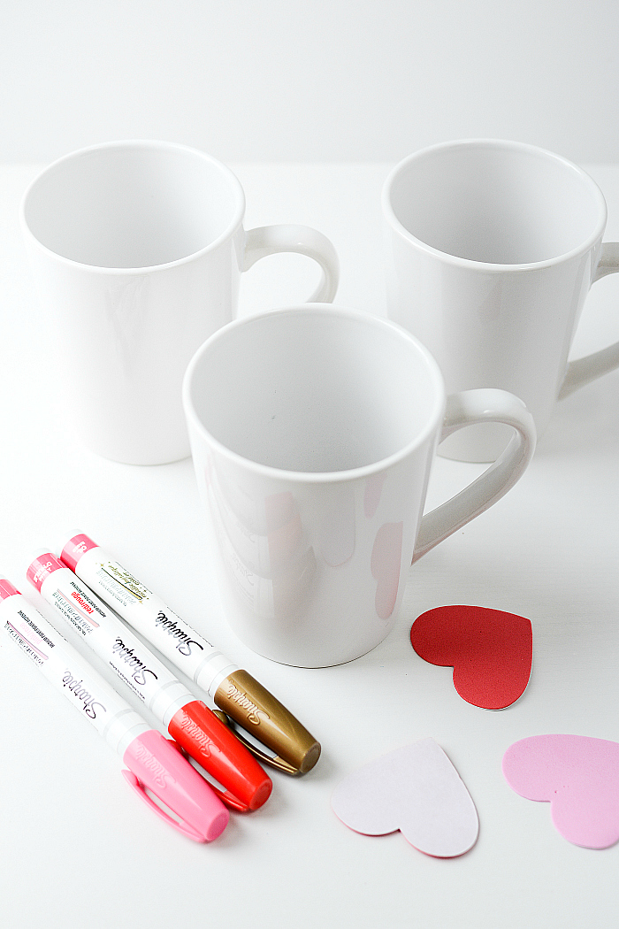 Valentine Day Gift Idea Heart Mug It All Started With Paint