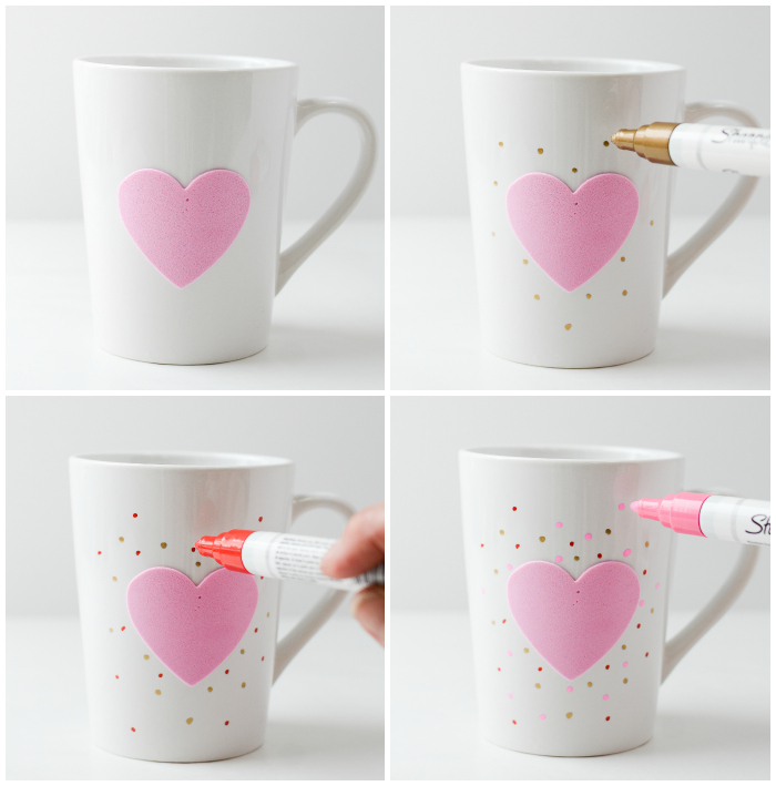 Sharpie Paint Pen Mug