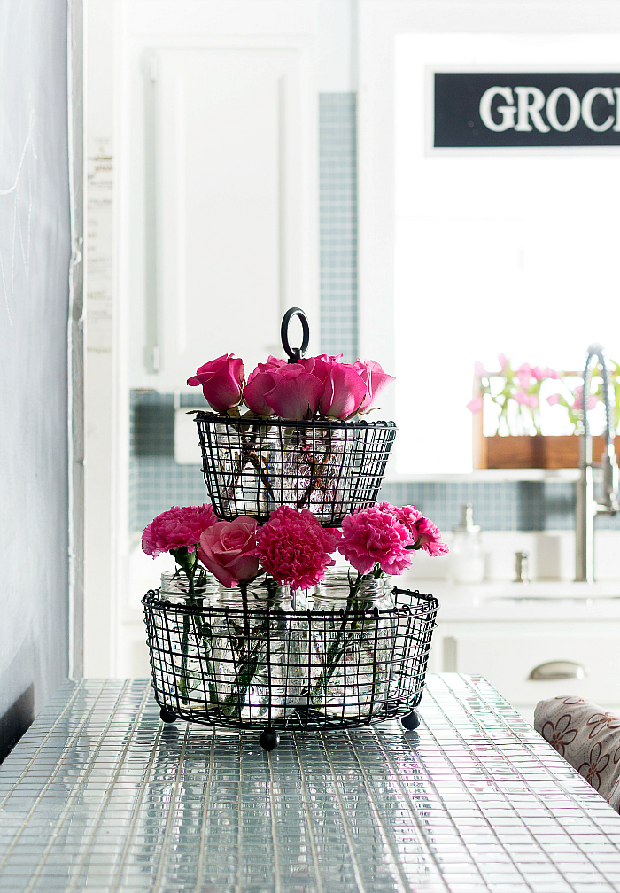 spring decorating ideas with pink - it all started with paint