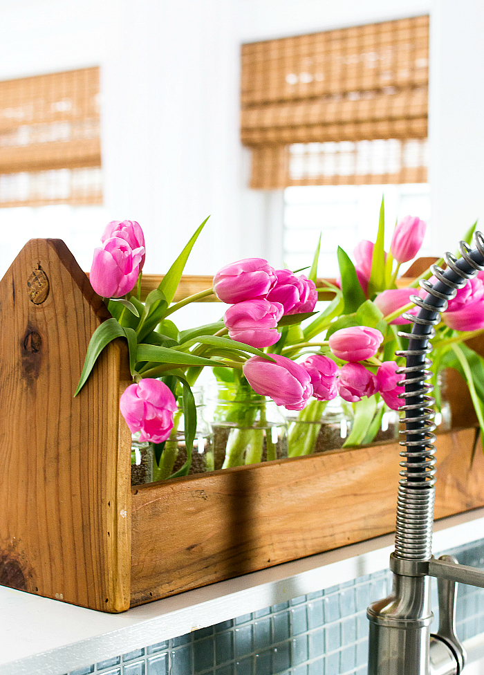 featuring spring decorating ideas with pink the kitchen