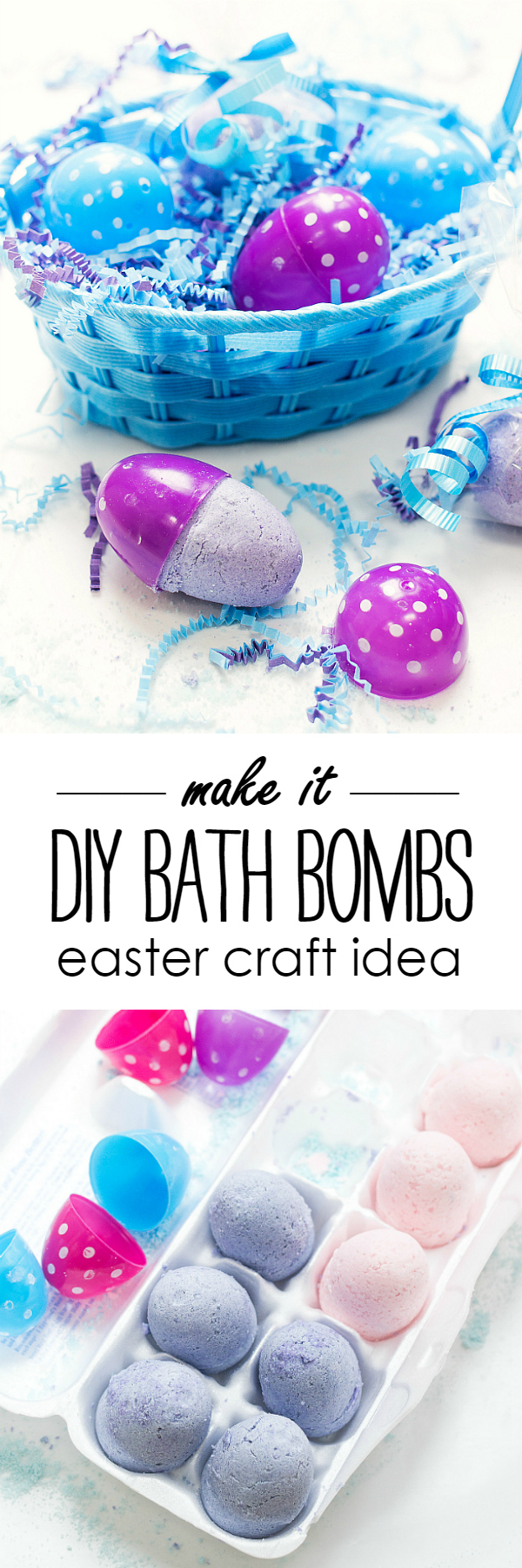 How to Make Bath Bombs - DIY Bath Bomb Recipe and Instructions @ItAllStartedWithPaint.com