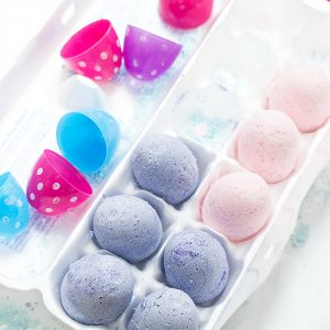 Bath Bomb Easter Egg DIY