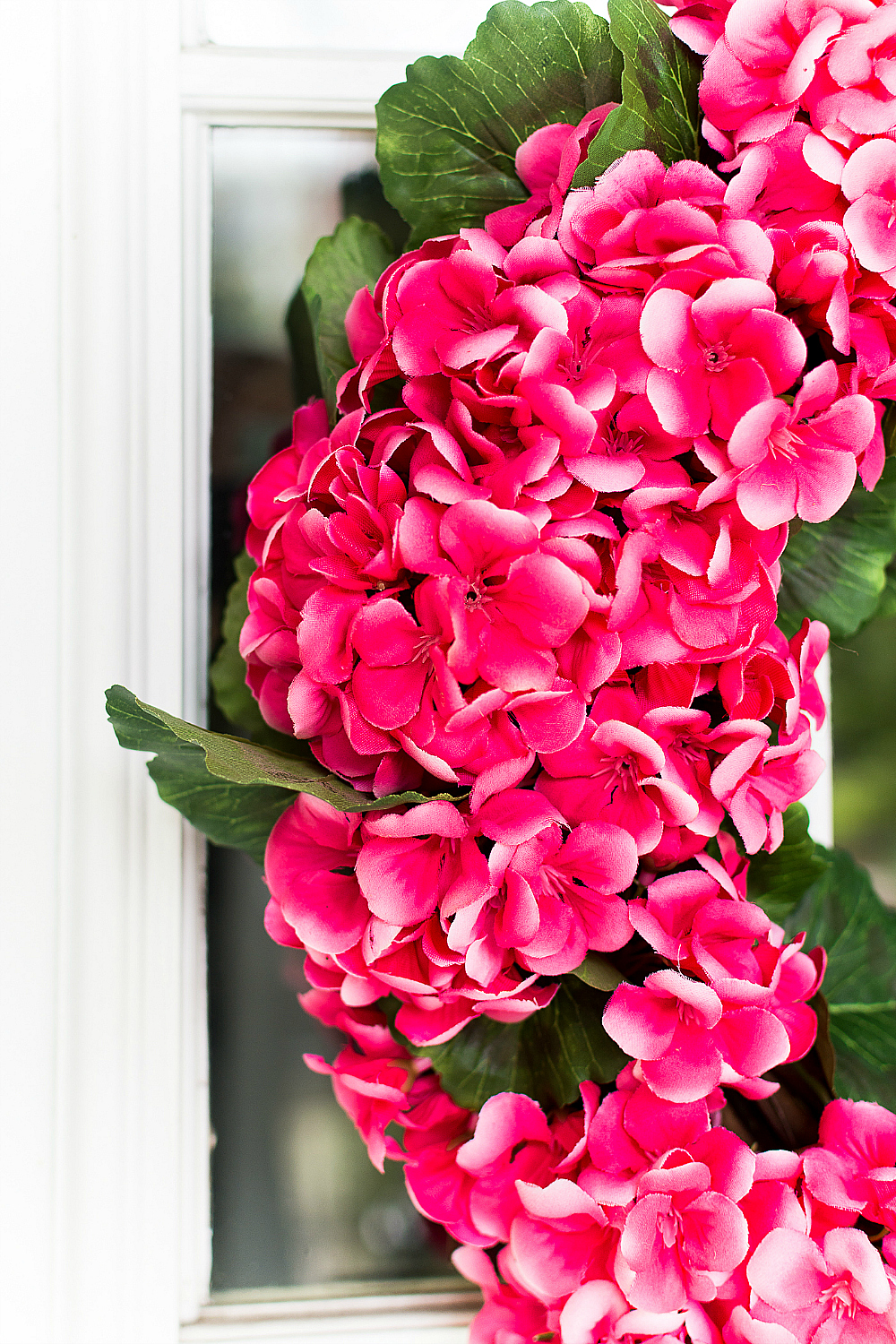 Spring Wreath Ideas in Pink