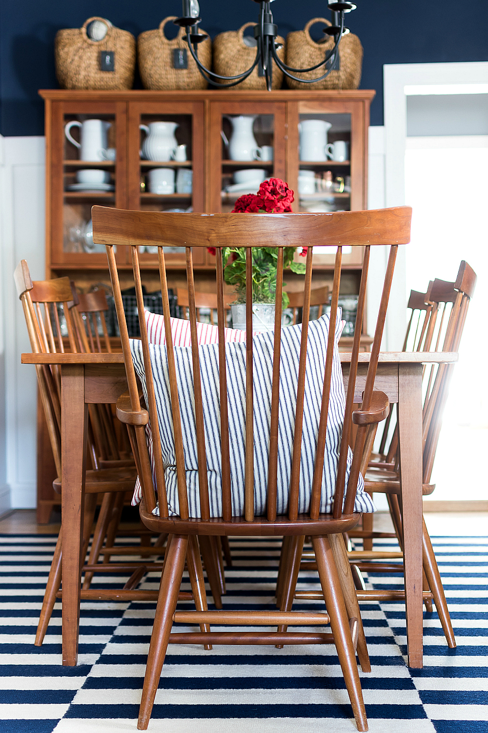 Red White Blue Americana Summer Decor It All Started