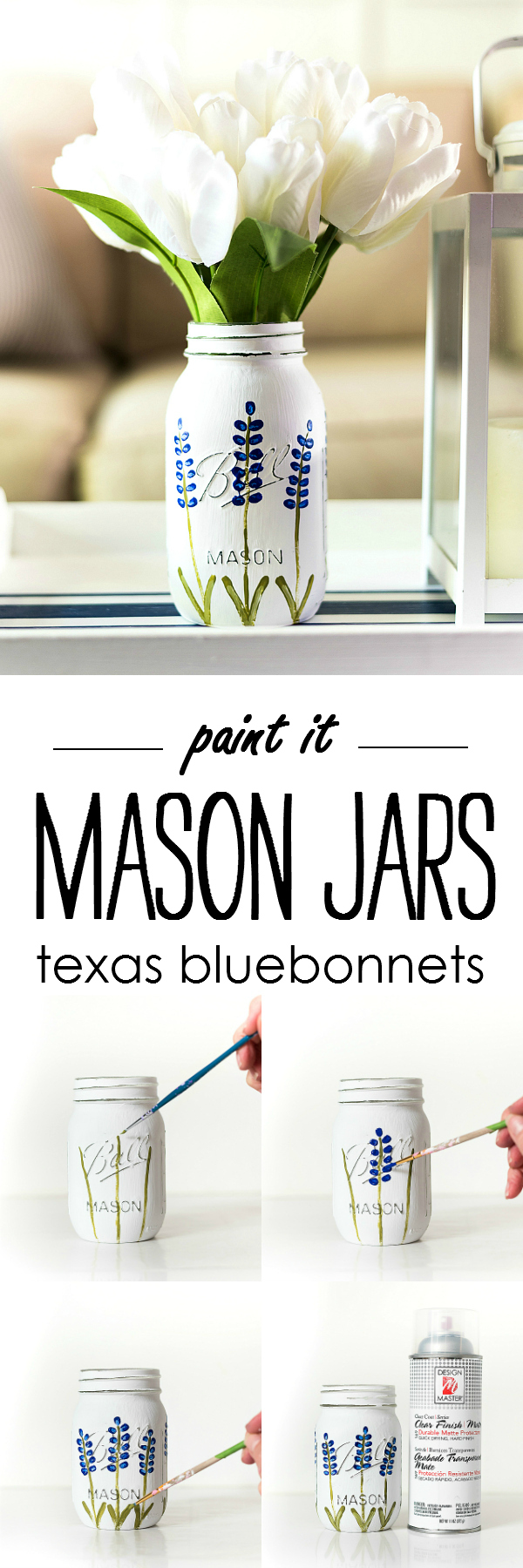 The pin junkie how to make paper bluebonnets - Pin It