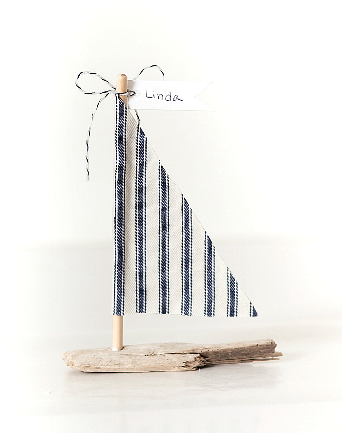 How to Make Driftwood Sailboats