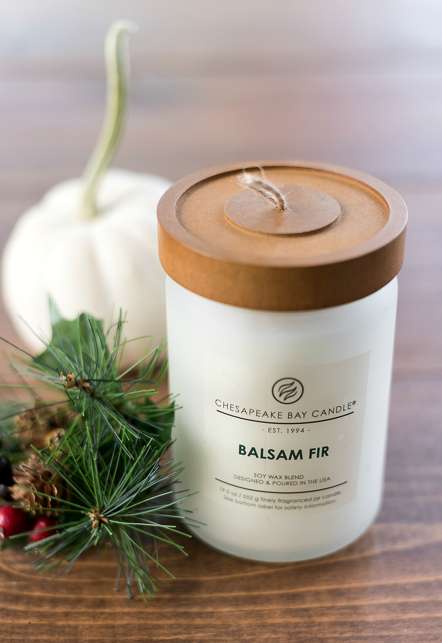 Balsam Fir Candle from Chesapeake Bay Candle Heritage Collection Fall 2017