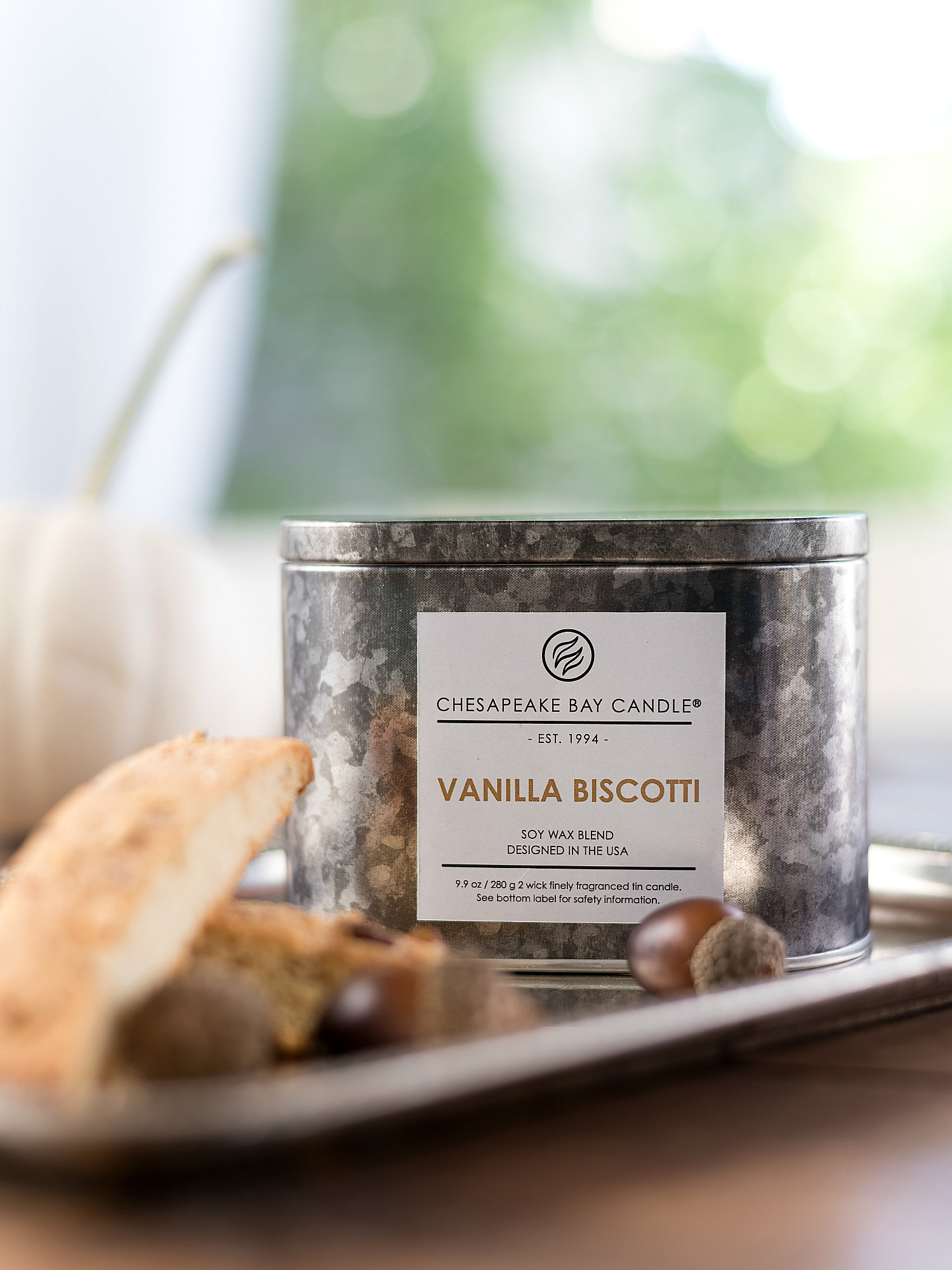 Vanilla Biscotti from Chesapeake Bay Candle Heritage Collection Fall 2017