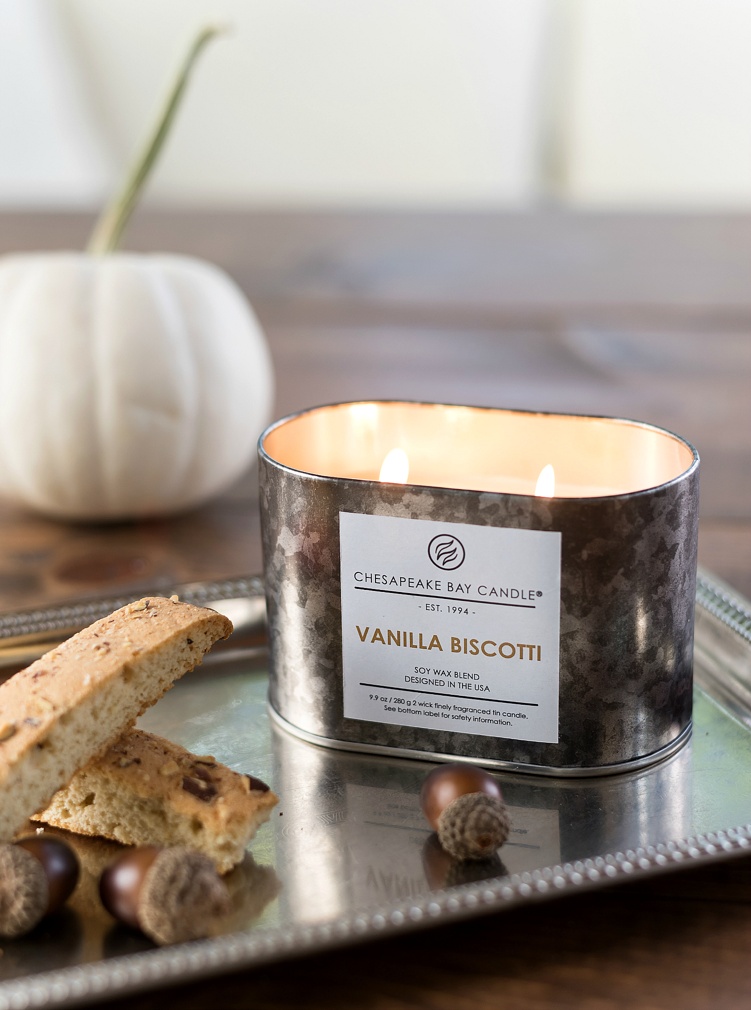 Fall Candles from Chesapeake Bay Candle Heritage Collection Fall 2017
