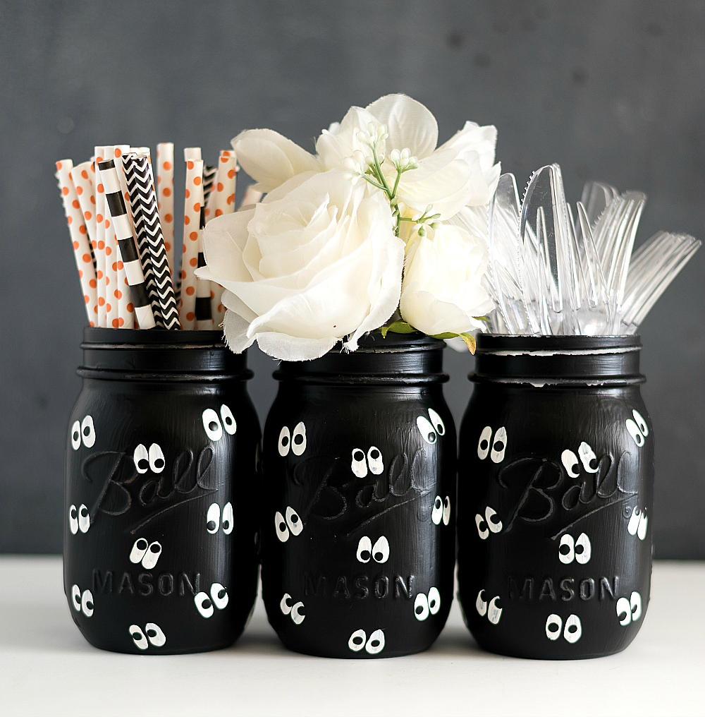 Painted Pumpkin Mason Jars It All Started With Paint