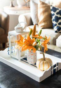 Painted Pumpkin Mason Jars