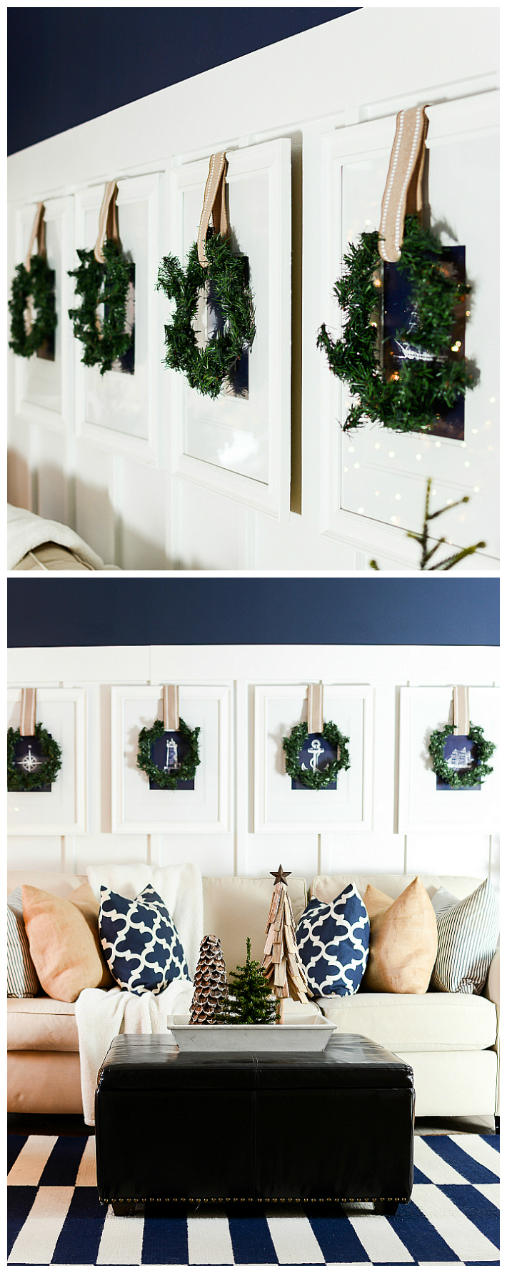 Decorating With Wreaths Christmas Wreaths On Pictures Burlap