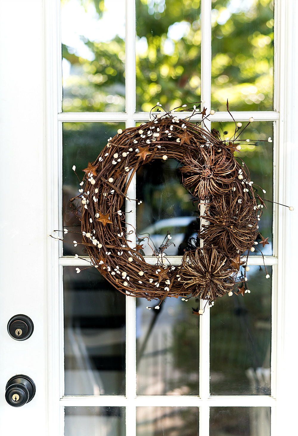 Easy Fall Wreath DIY - Twine Fall Wreath with Pumpkins