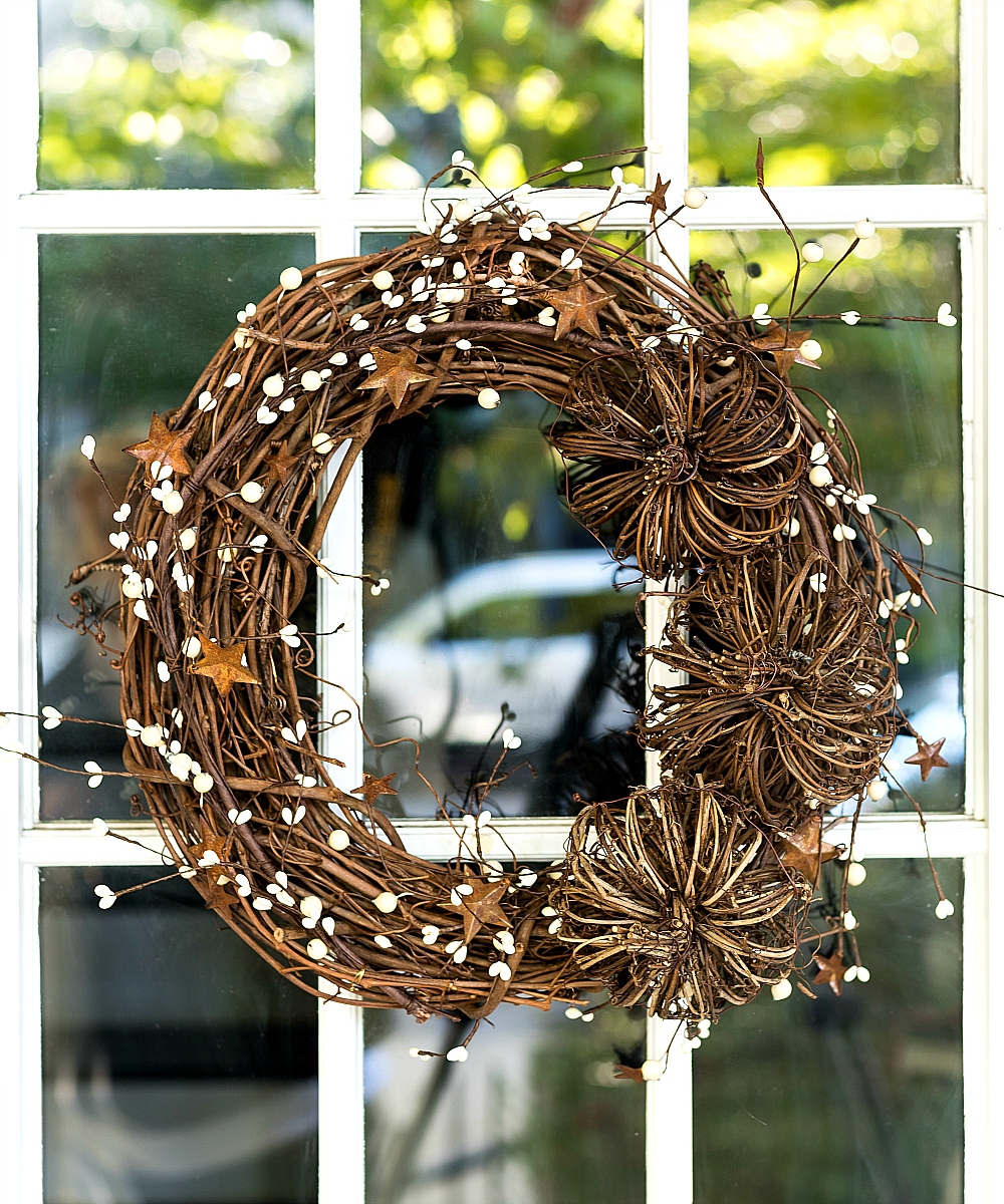 Grapevine Wreath for Fall DIY