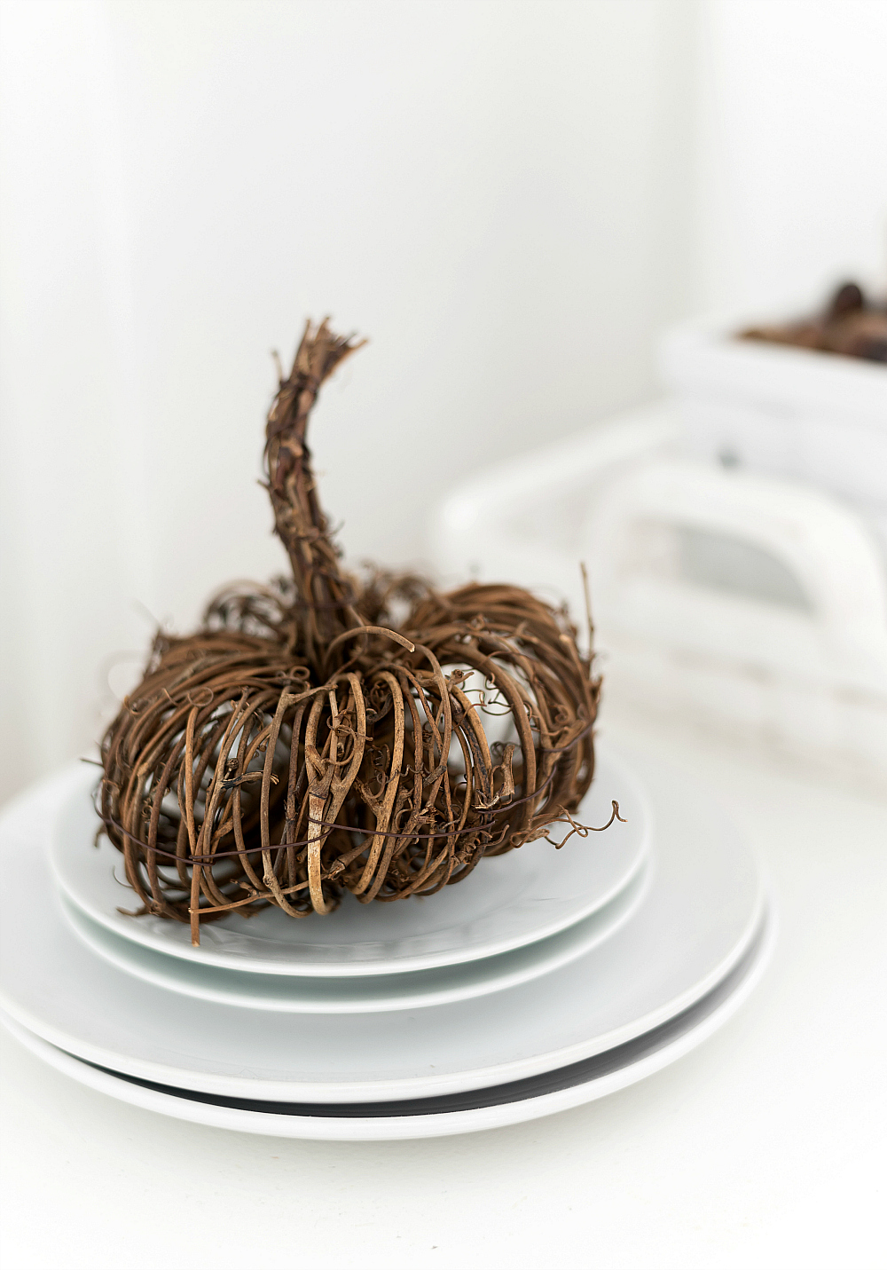 Mini Twine Pumpkins