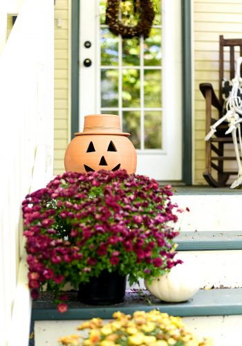 Fall Front Porch