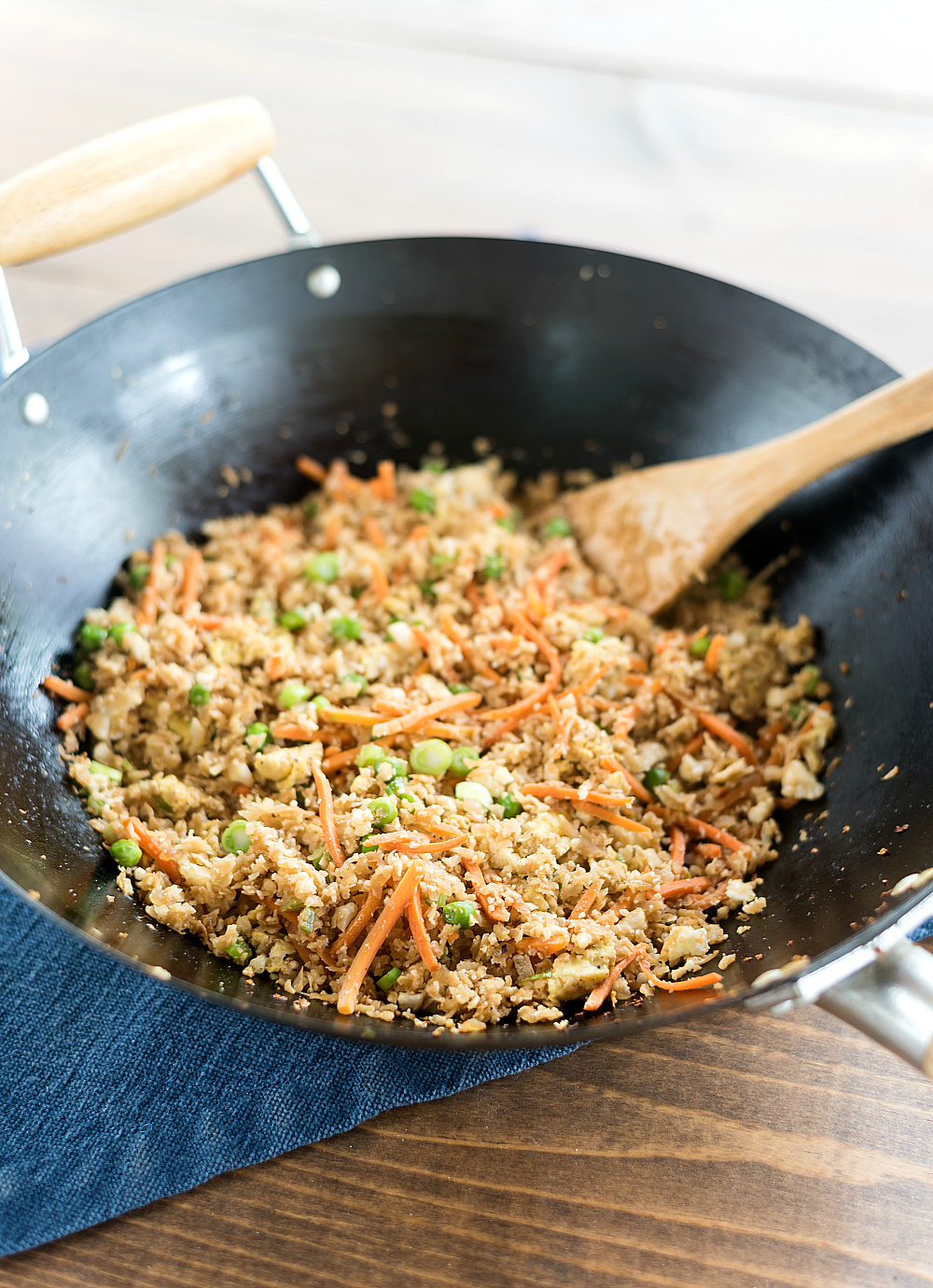 Weight Watchers Cauliflower Fried Rice - 3 Point Weight Watchers Entree - Low Point Weight Watchers Entree