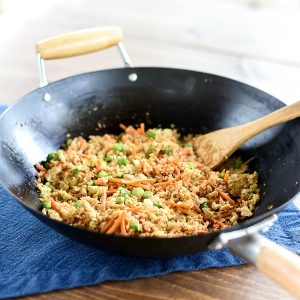 Weight Watchers Cauliflower Rice - Low Point Weight Watchers Entree