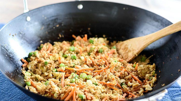 Weight Watchers Cauliflower Rice - Low Point Weight Watchers Entree