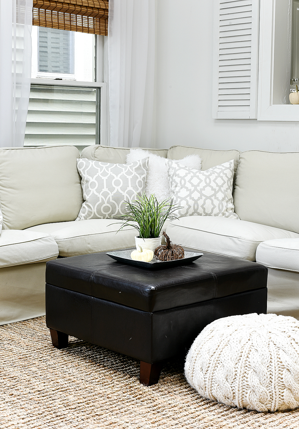 Neutral Gray, Greige, Jute Decor Ideas - It All Started With Paint