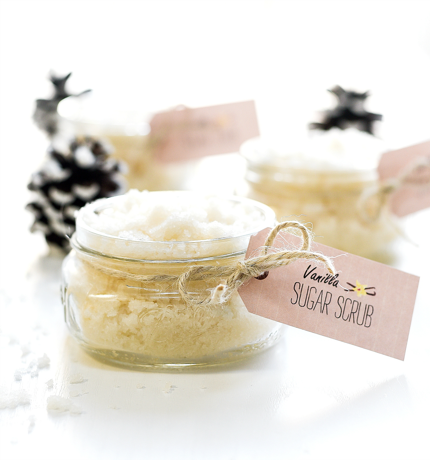Vanilla Sugar Scrub Recipe - Homemade Sugar Scrub Recipe Ideas