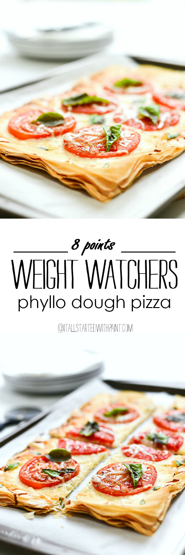Weight Watchers Pizza Recipe - Phyllo Dough Pizza - Margherita Pizza Recipe