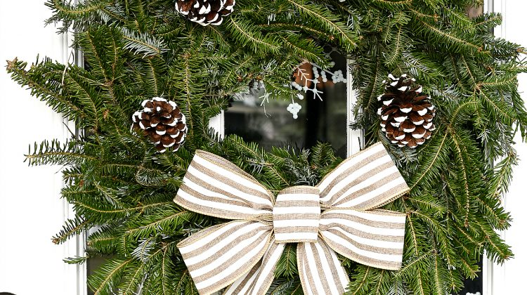 How To Make A Bow - Wreath Bow DIY Tutorial
