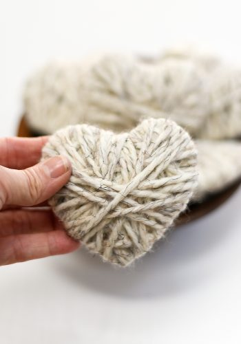 Valentine Craft with Yarn