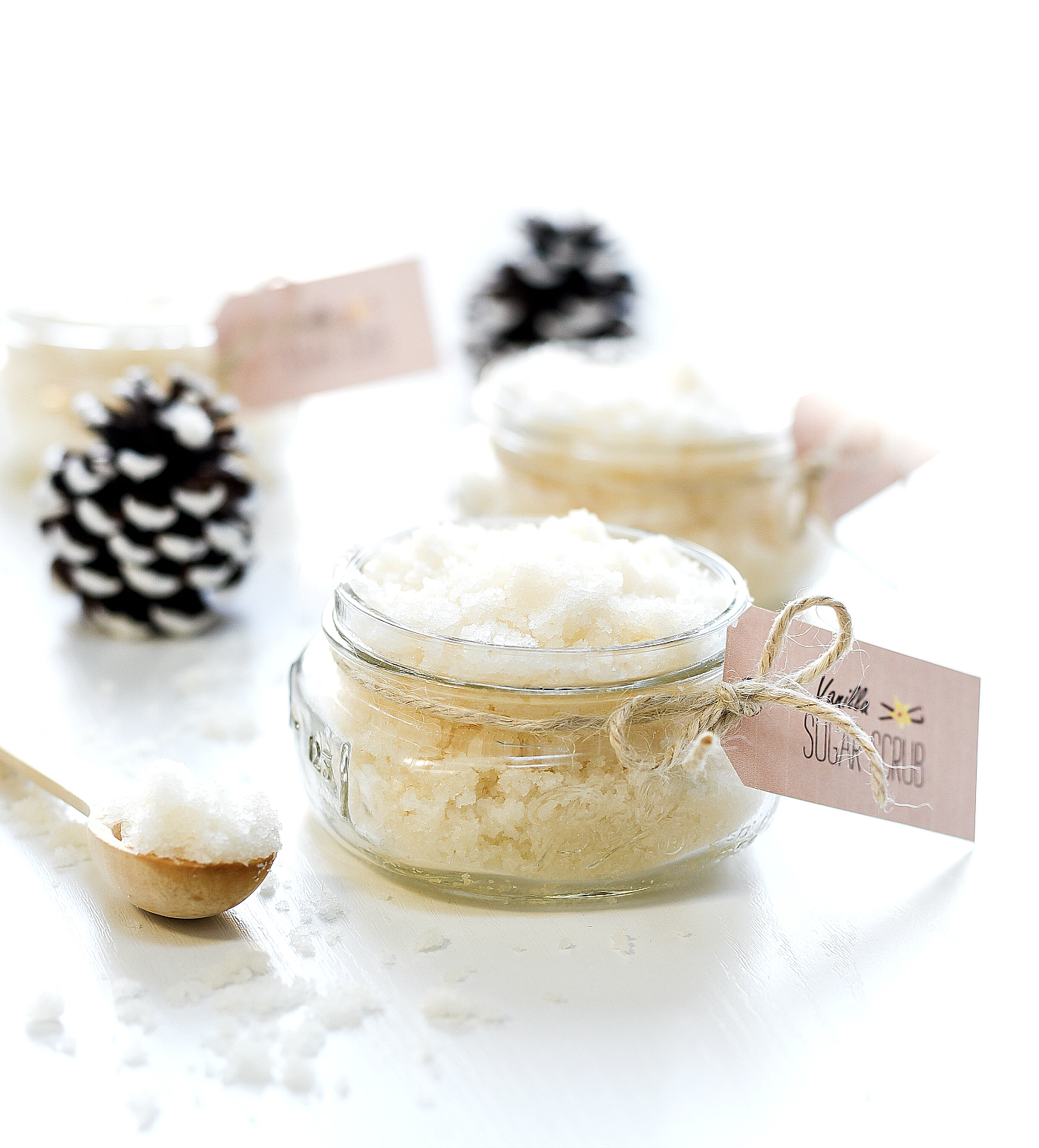 Sugar Scrub - Vanilla Sugar Scrub Recipe - Homemade Sugar Scrub Recipe Ideas