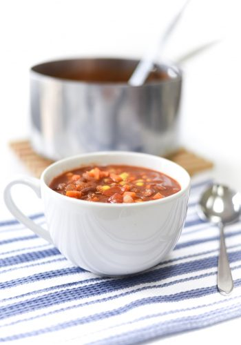 Weight Watchers Vegetarian Chili / Zero Point Dinner