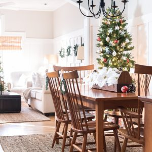 Christmas Home Tour: Dining Room