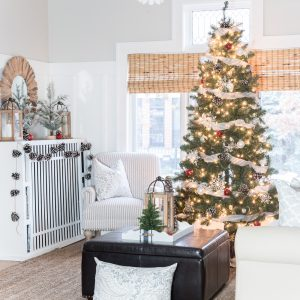 Christmas Home Tour: Living Room
