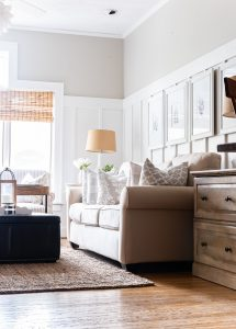Neutral and Gray Living Room Makeover