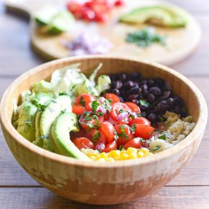 Mexican Taco(less) Buddha Bowl