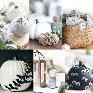 No Carve Pumpkin Crafts
